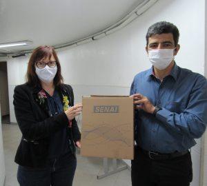 Doação de máscara para HOSPITAL SÃO VICENTE 21 DE MAIO DE 2020 (3)