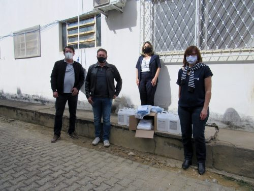 Intersind e Fiemg realizam doações para hospitais da região